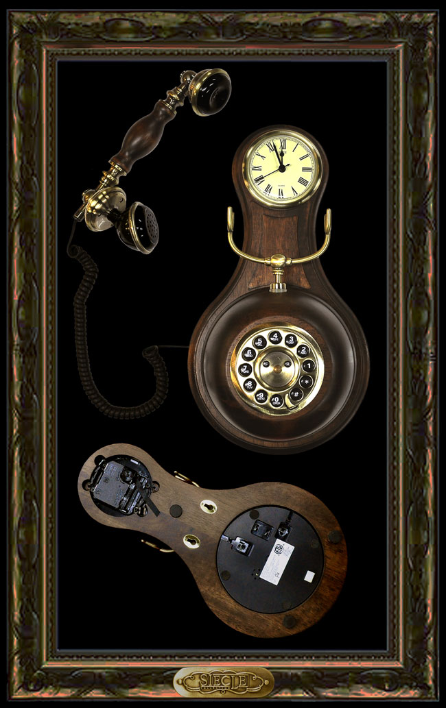 Wood Wall Telephone 【HT-36A】【eモンズ】