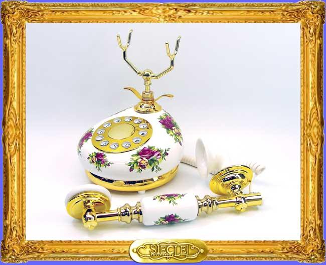 Porcelain Telephone 【HT-9007A】【eモンズ】