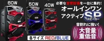 オールインワンアクティブSP 【60W レッド】