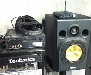 デジタルオーディオトランスミッター【TP-WTA03】FOSTEX NF-1を使用して聴き比べてみました