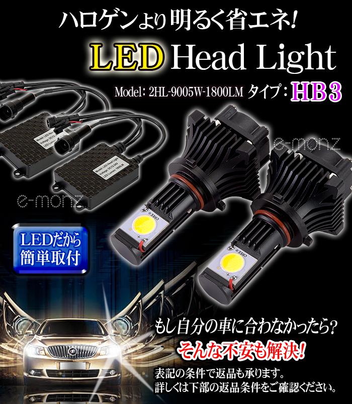 LEDヘッドライト 9005(HB3)タイプ