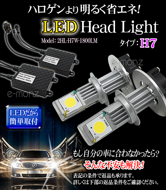 LED Head Light H7