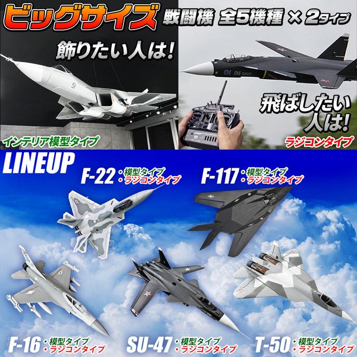 ビッグサイズ戦闘機 RCタイプ