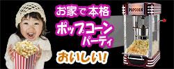家庭用ポップコーンメーカー【POPCORN POPPER】