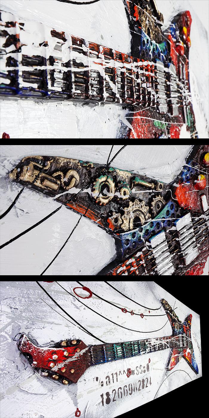 尖ったかっこよさが美しさへと変貌していく イーモンズアートコレクション 3D-GUITAR:083