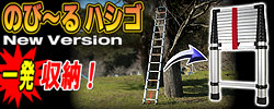���̥ϥ���3.8�᡼�ȥ륿���סڥƥ쥹���ԥå������/TELESCOPIC LADDER��