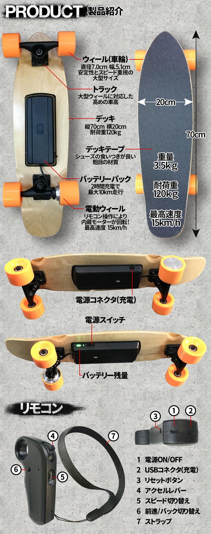 エレクトリックスケートボード