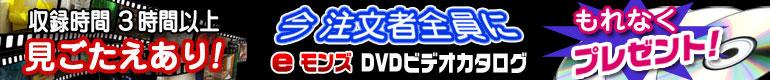 ご注文の方全員に【DVDカタログ】プレゼント